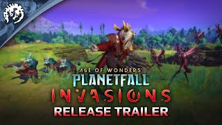 Age of Wonders: Planetfall INVASIONS - Release Trailer