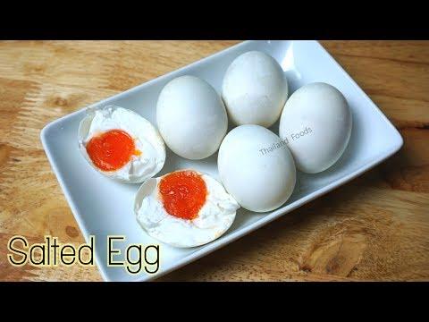 Thai Foods | Salted Duck Eggs