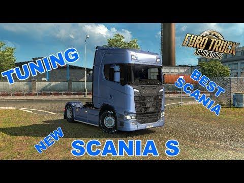 Euro Truck Simulator 2 І NEW SCANIA S І TUNING