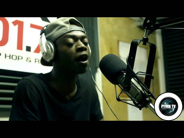 """PYREX TV PRESENTS """"FISH SCALE FREESTYLES"""" YUNG EASY LIVE ON POWER 101.7 WITH DA TRYFE MC"""