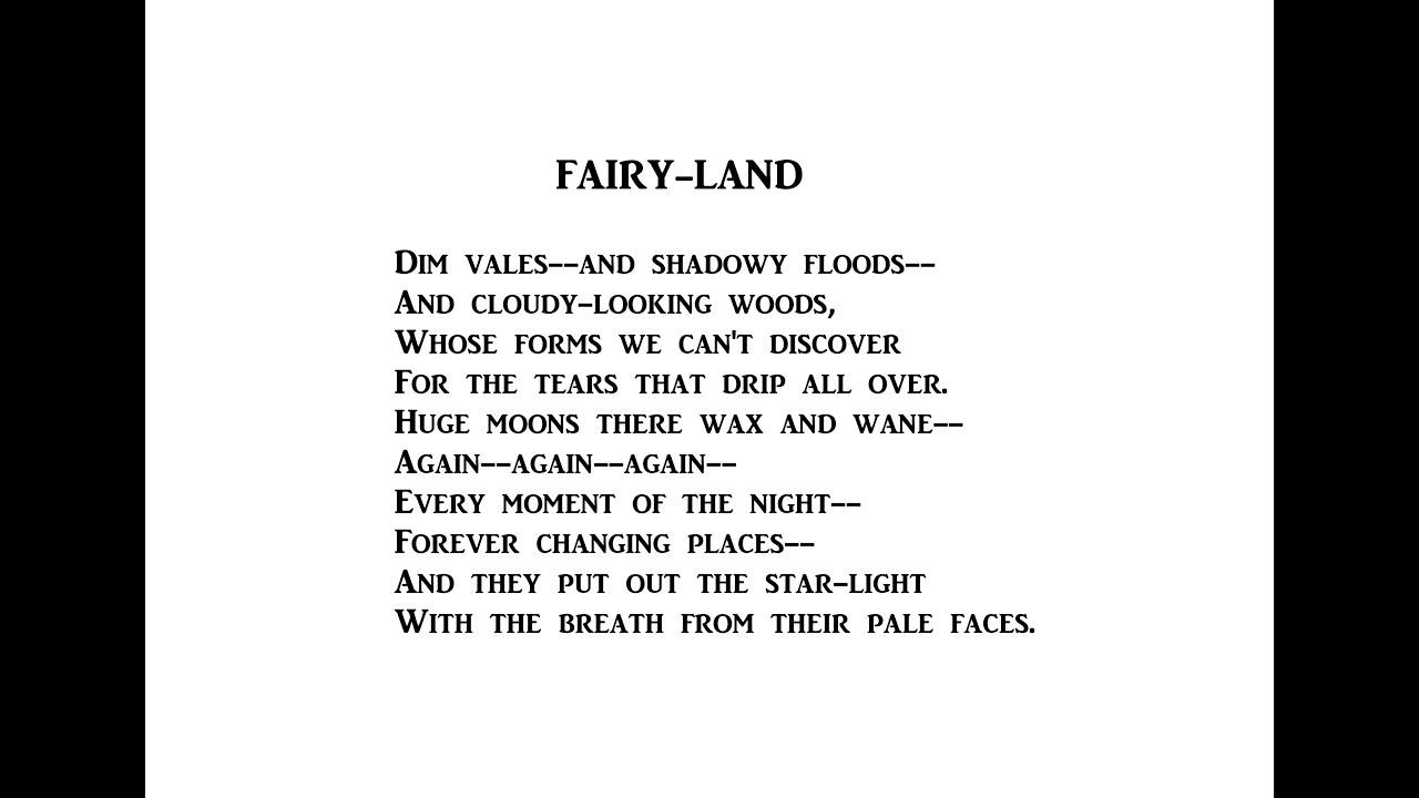dreamland edgar allan poe pdf