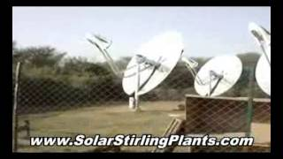 Solar Stirling Engine - Free Energy Plans