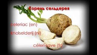 Корень сельдерея/Céleri-rave/Чем заменить картофель?