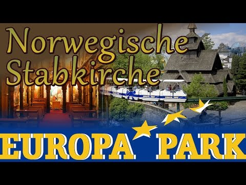 Norwegische Stabkirche @ Europa-Park - Walkthrough - Norwegian Stave Church (Scandinavia)