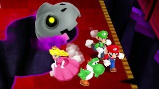 Mario Party: Island Tour Mini Games - Yoshi Vs Mario Vs Luigi Vs Peach (Master CPU)