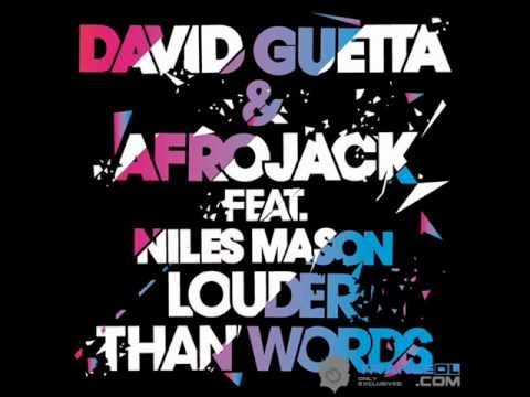 David Guetta e Afrojack Louder Than Words Original Mix
