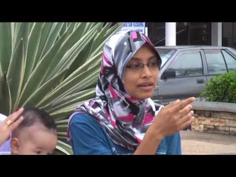 Percutian Bersama Keluarga - Day 1 @ Dataran Lumut