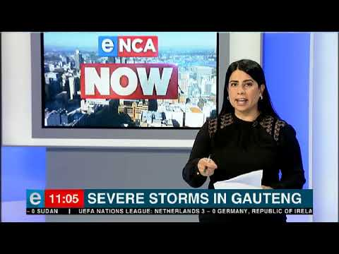 Severe storms in Gauteng