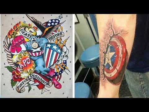 Avengers Tatoo - The Best Marvel Comics Tattoos