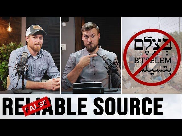 B'Tselem is Not a Human Rights Organization