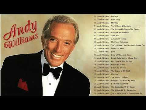 Andy Williams Greatest Hits Full Album - Best Of Andy Williams Songs