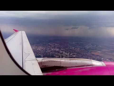 Take-off from Debrecen city.
