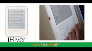 Demonstration av läsplattan iRiver Story HD/WiFi