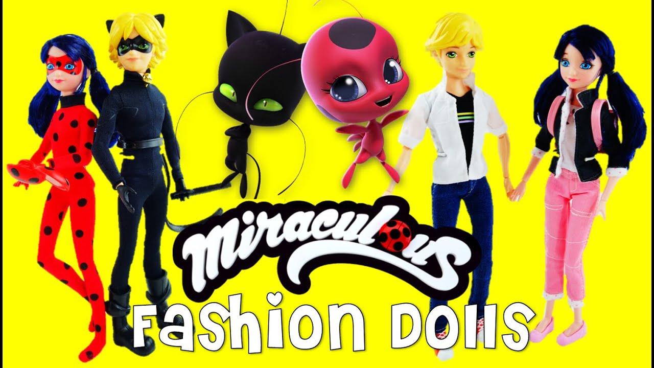 Miraculous Ladybug Amp Cat Noir FASHION DOLLS Marinette