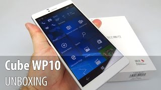 Cube WP10 Unboxing (7 inch Tablet with Windows 10 Mobile)