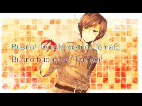 Delicous Tomato Song Romano[English and Romanji]