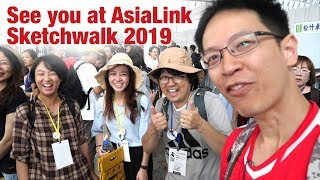 See you at AsiaLink Sketchwalk 2019 (Taichung Day 4)