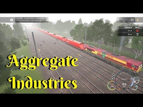 Aggregtae Industries | Scenario | Train Simulator World | Xbox one