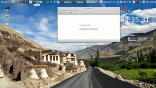 Linux Mint Урок 08 Установка погоды, будильника и Google Chrome