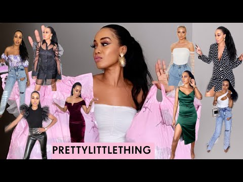 PRETTY LITTLE THING TRY-ON HAUL / 2020 EDITION / *Must Haves* /Tupo1