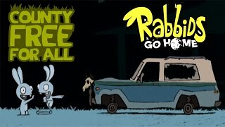 #18 Rabbids Go Home - County Free For All - Video Game - kids movie - Gameplay - Videospiel