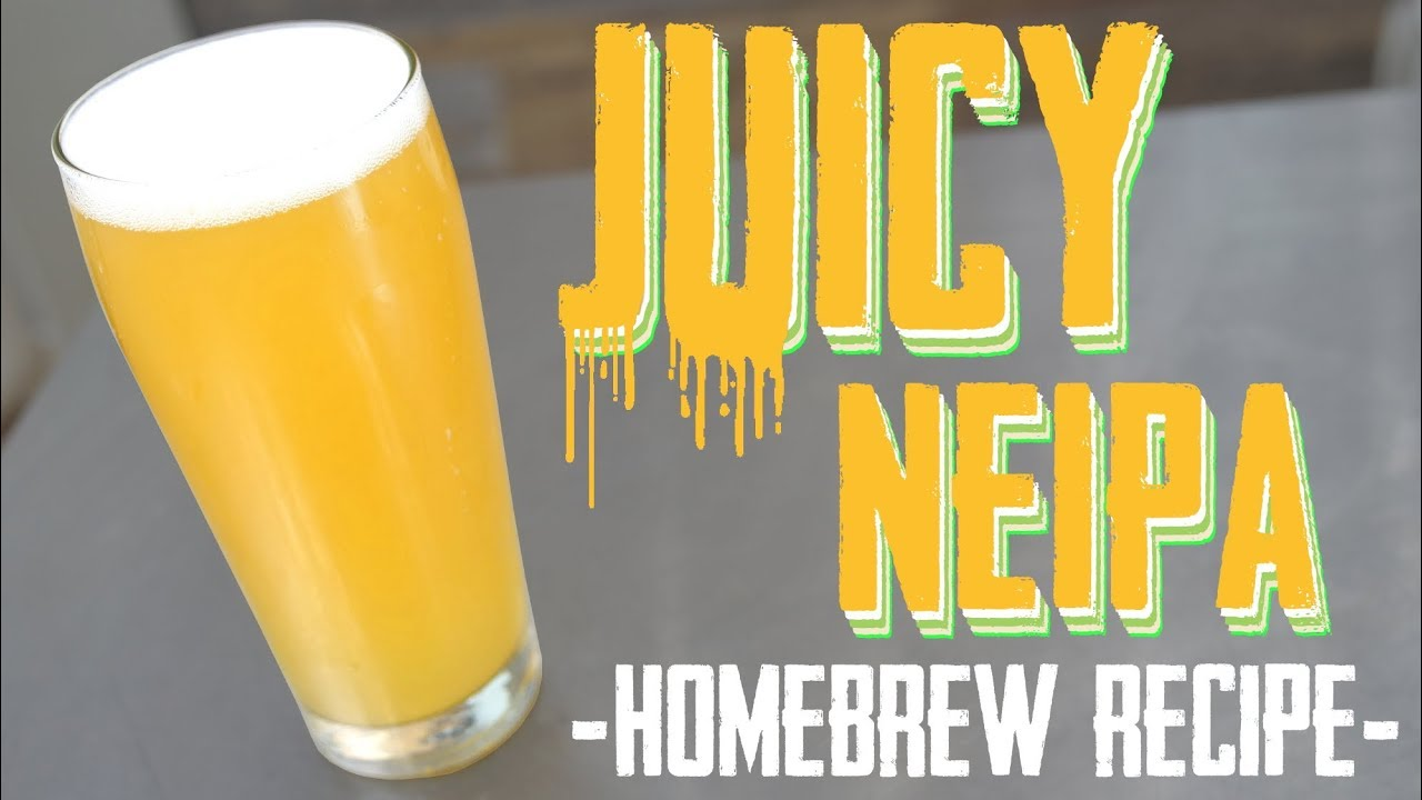 juicy neipa homebrew beer recipe - Christmas Ale Recipe
