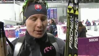 Anastasia Kuzminová |Na 15 km bez medaily, rozhovor| ᴴᴰ