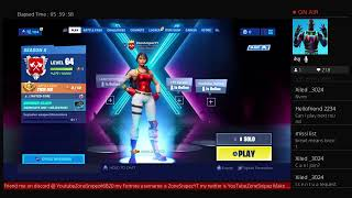 Fortnite #roadto1500subscribers shoutout Saturday #freeshoutouts pretty good player #Playingwithfans