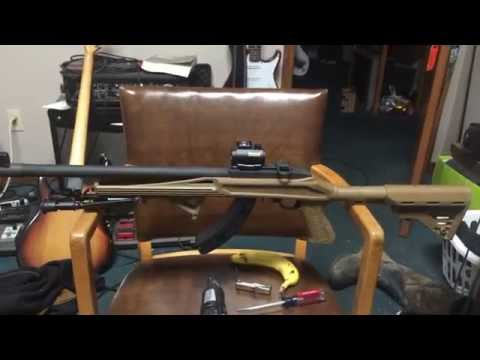 Ruger 10/22 Blackhawk Axiom R/F Rifle Stock Video Response