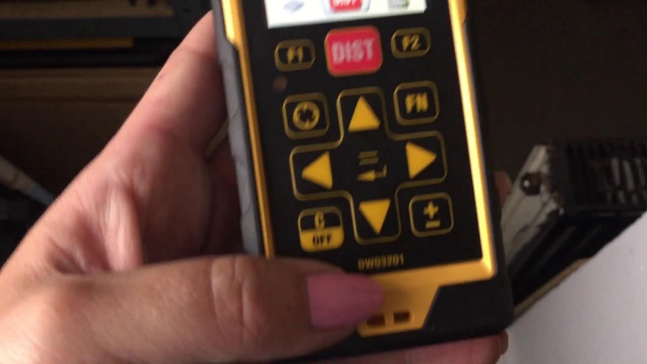 Dewalt dw dewalt entfernungsmesser laser
