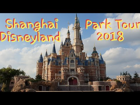 Disneyland Shanghai complete Park Tour 2018, All Rides, Shows, Lands, New Toy Story Land, China 2018