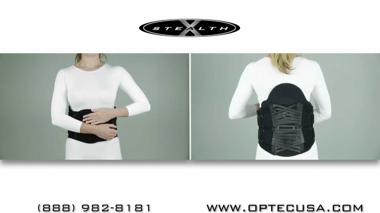 Great Back Brace Stealth - 4 Strap System Fitting Instructions