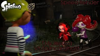 【Splatoon SFM Speed Render】 TJ & Jessica VS Sp3nc3rghost 【Sp3nc3rghost Strikes Back Collab Entry】