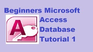 Microsoft Access Database Tutorial for beginner