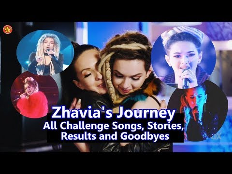 Zhavia's Journey The Four  - All Challenge Performances All Background Stories Results & Goodbyes