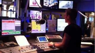 Fuhrung durch das O3 Studio im Rahmen des Verkehrs-Awards