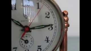 Download FIVE RAMS China Alarm Mantel Clock Vintage Wall Bakelite Copper Shelf Desk MP3 song and Music Video