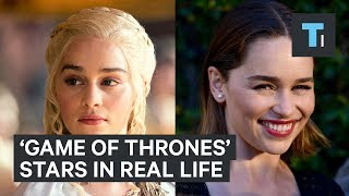 Here's what 'Game of Thrones' stars look like in real life