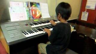 小3(8歳)の6月の発表会が終わって、1ヶ月ぶりに弾いたら、みごとに...