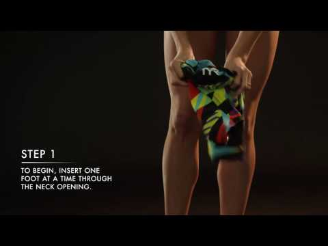 TYR - How To Put On Your Tech Suit - Women's