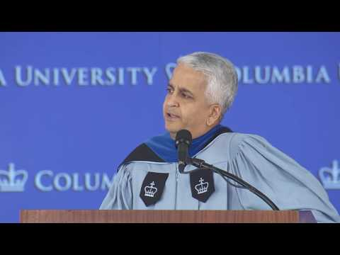 Columbia GSAS MA  Convocation 2017