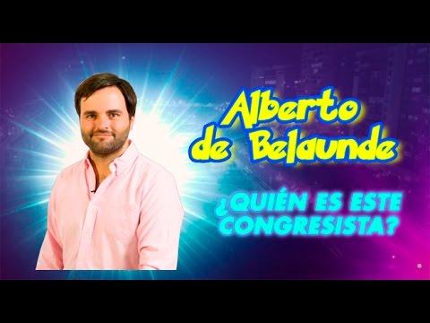 Hashtag: Conoce un poco más al congresista Alberto de Belaunde