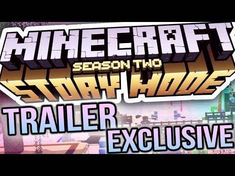 MINECRAFT STORY MODE SEASON 2 EXCLUSIVE TRAILER!!!