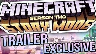 MINECRAFT STORY MODE SEASON 2 EXCLUSIVE TRAILER!!!