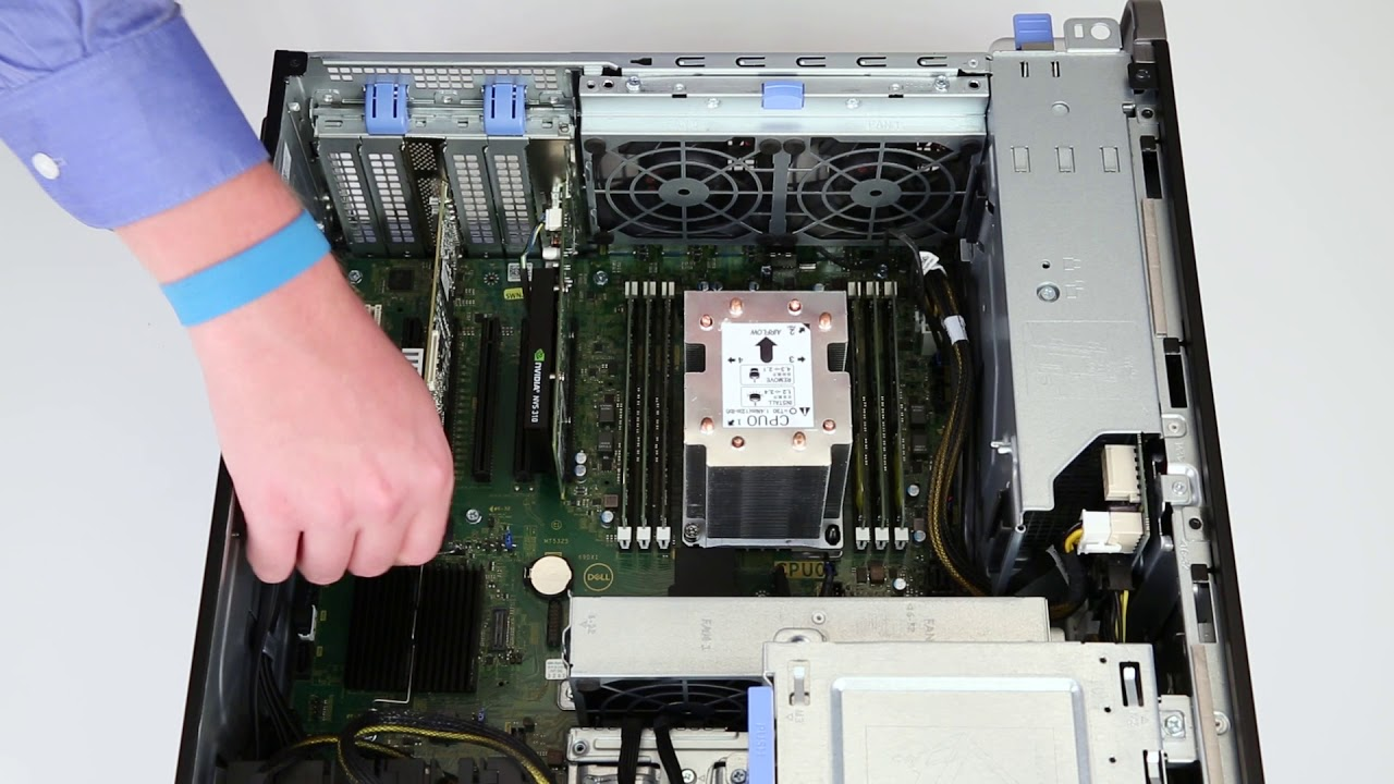 Dell Precision 5820 and 7820: Flex Bay Upgrade - Convert PCIE to LSI
