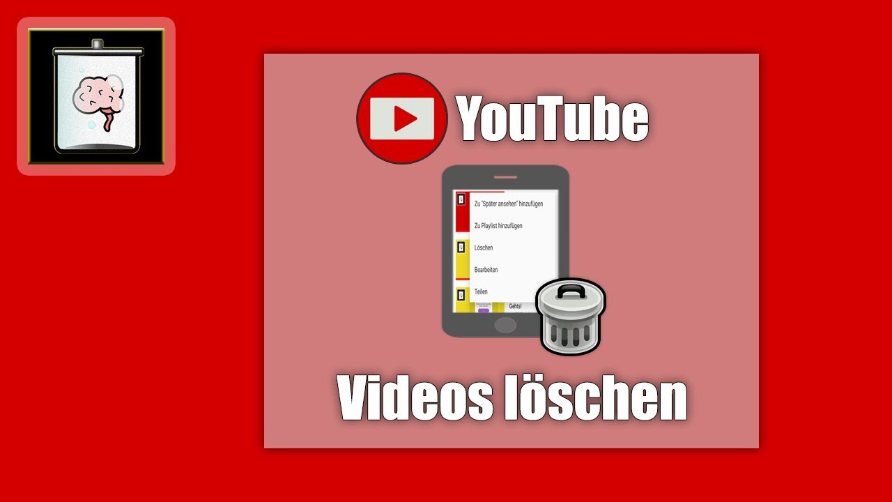 Video In Youtube Löschen
