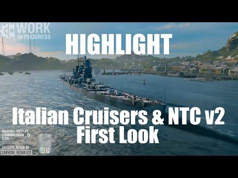 Highlight: Research Bureau & Italian Cruisers First Look
