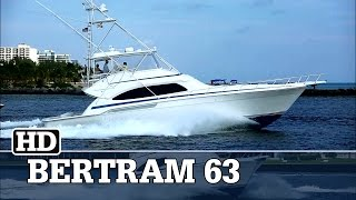 Bertram 63 Running at Fort Lauderdale | GATOR BAY