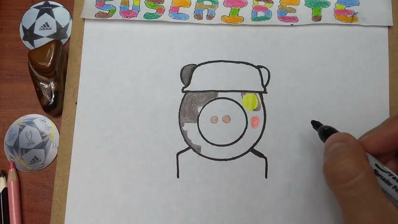 Como Dibujar Y Pintar Al Soldado Piggy De Piggy Roblox How To