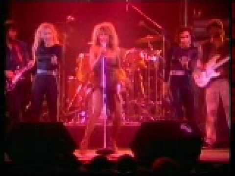 Tina Turner Hot Legs And Get Back 1984.